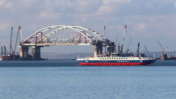 """Строительство """"Керченского"""" ( """"Крымского"""") моста"""