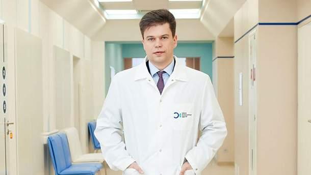 """Сергій Одарченко, головний лікар """"Онко Консалтинг Центру"""""""