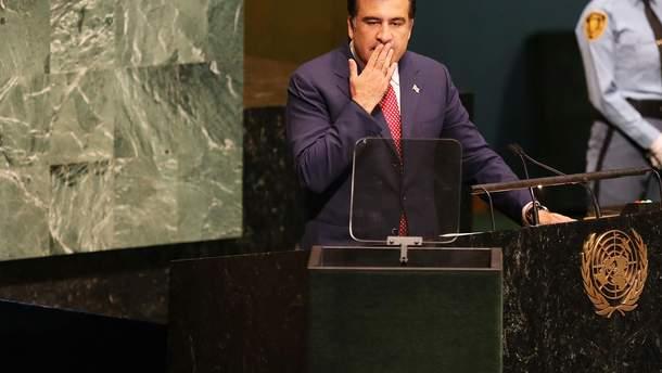 Саакашвили грозит выдворение из Украины