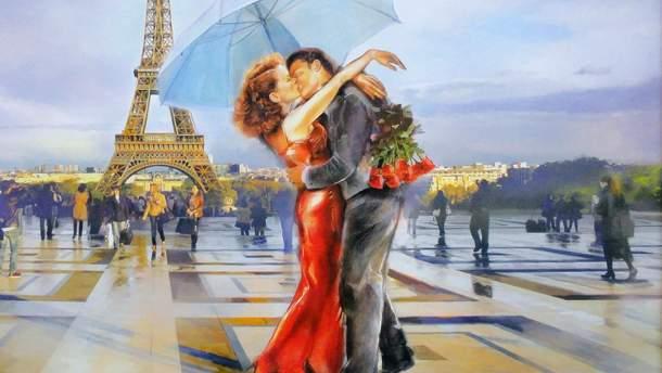 Місцями закоханих у День святого Валентина