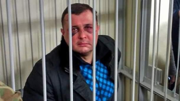 Александр Шепелев на суде по избранию меры пресечения
