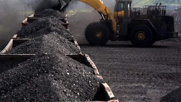 Контрабанда угля из Донбасса