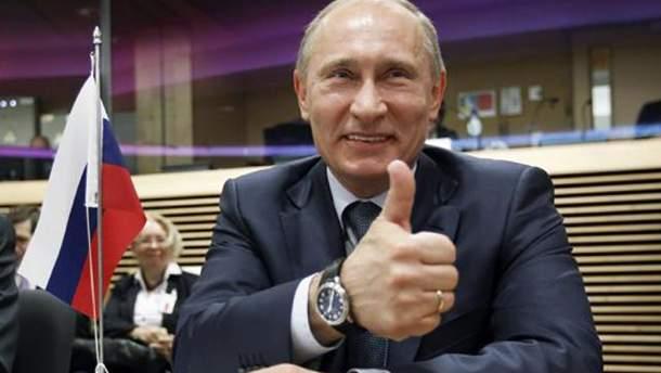 Путін перекрутив анекдот про тракториста