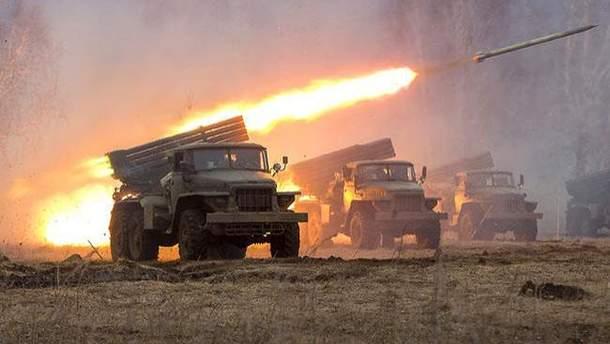 """Спостерігачі ОБСЄ зафіксували застосування """"Градів"""" на Донеччині"""