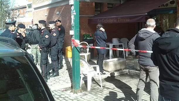 Стрельба в Пизе: фото с места события
