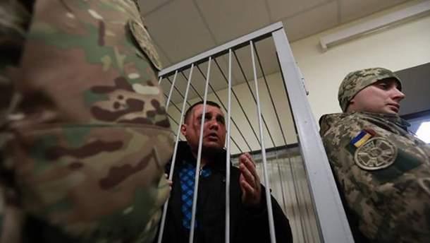 Александр Шепелев в зале суда