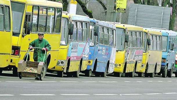 Маршрутные такси Киева