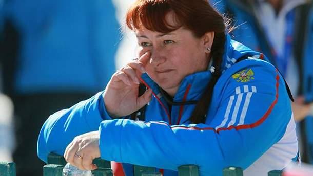 Олена Вяльбе прийшла на Олімпіаду-2018 за глядацьким квитком