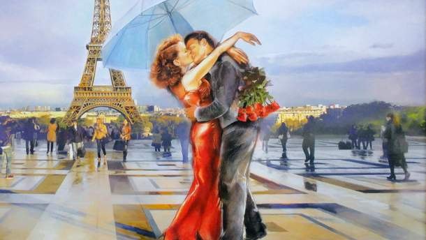 Местами влюбленных в День святого Валентина
