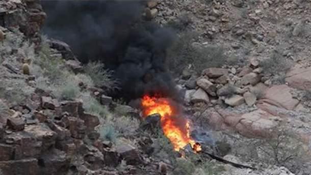 У Великому Каньйоні розбився вертоліт з туристами