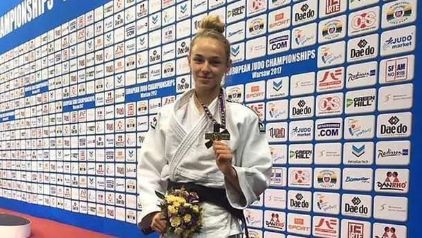 Дарья Билодид победила на турнире по дзюдо