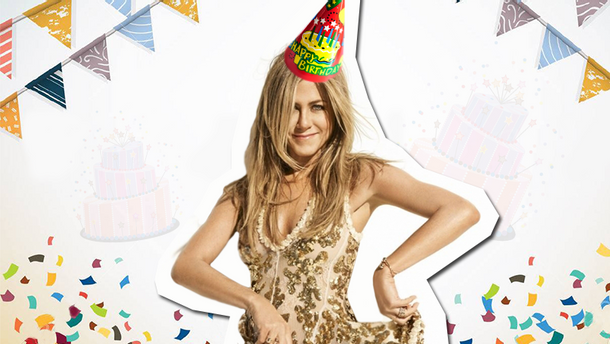 Дженнифер Энистон празднует день рождения 11 февраля