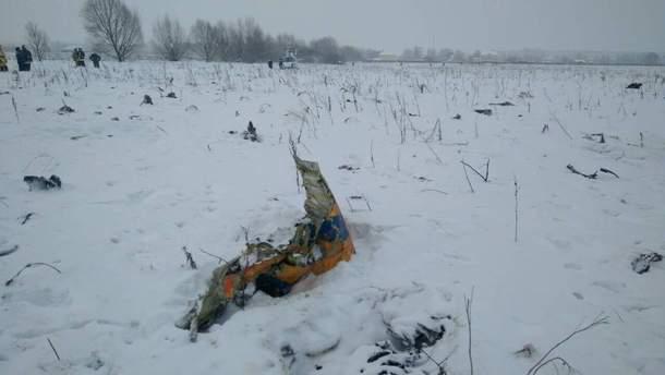 Катастрофа Ан-148 у Підмосков'ї: серед жертв – три дитини