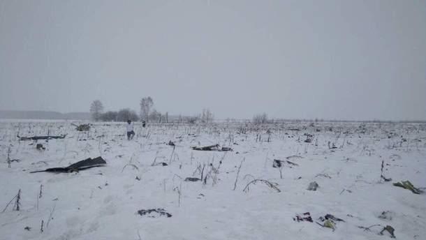 Літак Ан-148 розбився під Москвою
