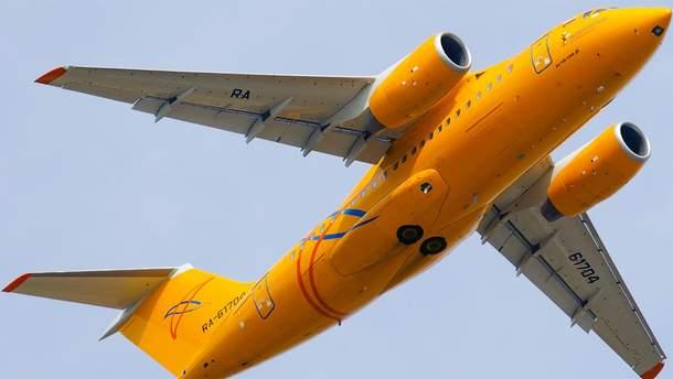 """Літак Ан-148 авіакомпанії """"Саратівські авіалінії"""""""