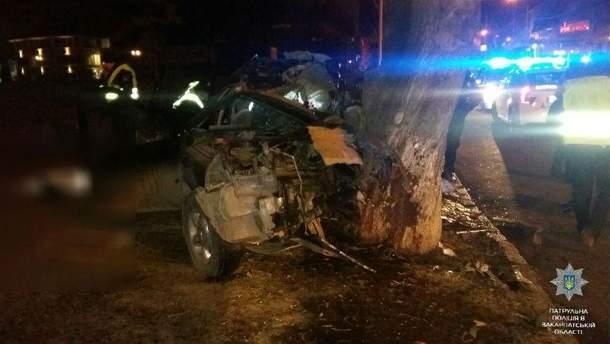 Авария в центре Ужгорода