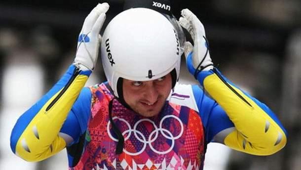 На Олимпиаде-2018 украинский спортсмен выпал из саней