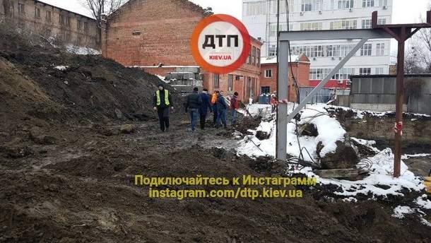 В Киеве на стройке погиб мужчина
