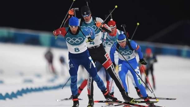 Олимпиада-2018: Мартен Фуркад победил в мужской гонке преследования
