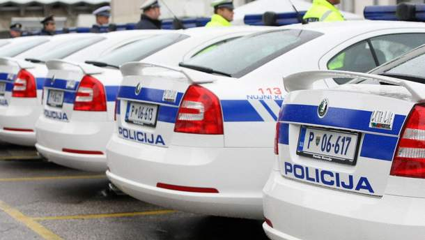 В Словении полиция вышла на забастовку