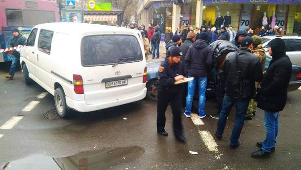 У центрі Одеси сталася стрілянина