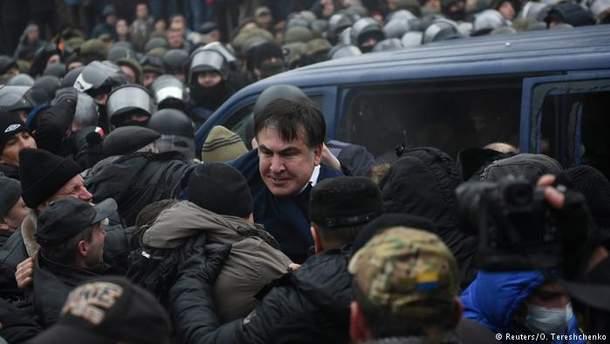 Саакашвили задержали: видео
