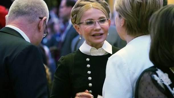 Юлия Тимошенко на Национальном молитвенном завтраке в Вашингтоне