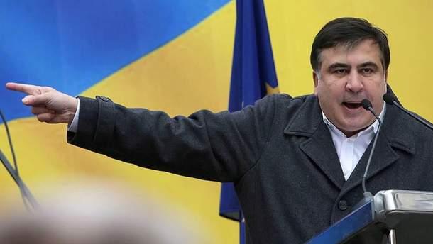 Михеила Саакашвили выдворили из Украины
