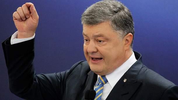 Порошенко прокоментував ідею зняття санкцій з Росії