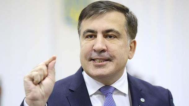 Михаила Саакашвили выдворили из Украины