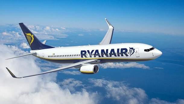 Ryanair будет летать из Украины осенью