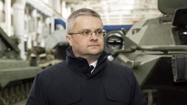 """Порошенко уволил гендиректора """"Укроборонпрома"""" Романа Романова"""
