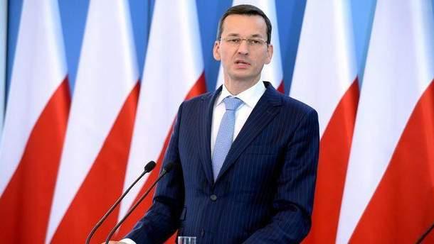 Прем'єр-міністр Польщі Матеуш Моравєцький порівняв Богдана Хмельницького з Гітлером