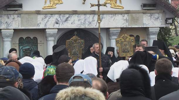 Застройка Десятинного монастыря