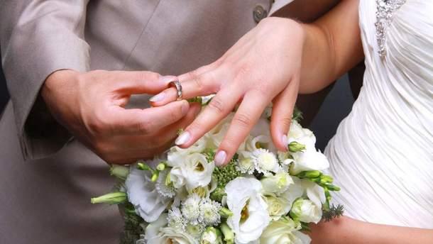 В День Святого Валентина в Украине поженятся почти 2 тысячи пар