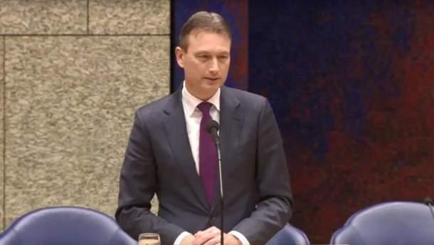 Глава МИД Нидерландов подал в отставку