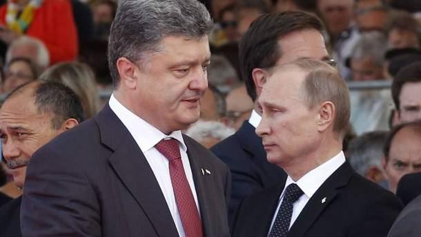 Порошенко провел разговор с Путиным