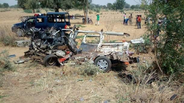 Ужасное ДТП в Нигерии
