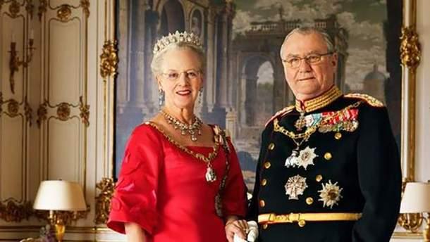 Помер датський принц Генрик