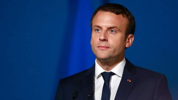 Макрон пояснив, за якої умови Франція може втрутитися у конфлікт в Сирії