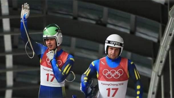 Україна посіла останнє місце у санному спорті на Олімпіаді