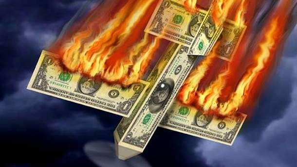 Чому падає долар?
