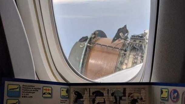 Літак почав розсипатись просто під час польоту