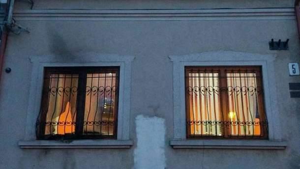 Последствия нападения на офис венгров Закарпатья в Ужгороде