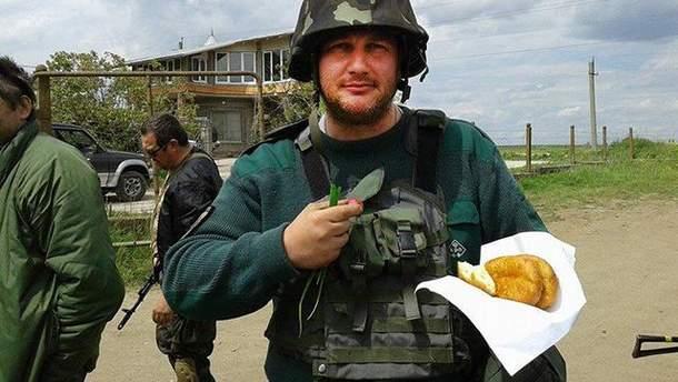 Арестованный боец АТО Петр Салама