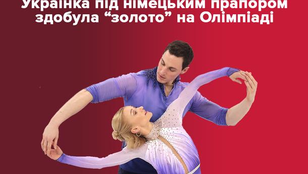 Олімпіада-2018  Альна Савченко і Бруно Масо вибороли золото у фігурному  катанні 885e0f496d8b1