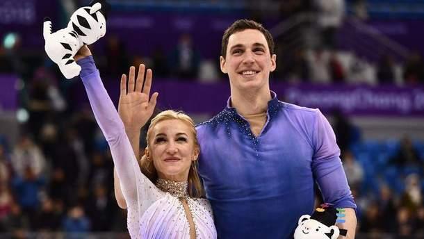 Алена Савченко и Бруно Массо – чемпионы Олимпиады-2018 по фигурному катанию