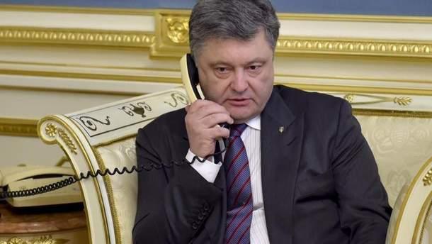 Порошенко рассказал, о чем говорил с Путиным