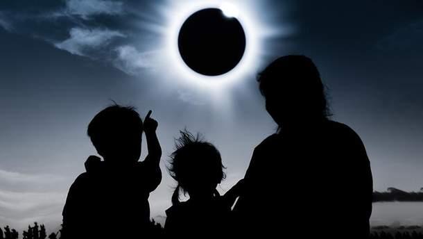 Солнечное затмение 15 февраля 2018 года