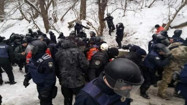 Столкновения под судом над Геннадием Трухановым